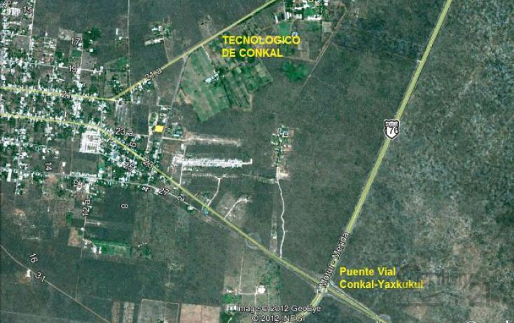 Foto de terreno habitacional en venta en calle, conkal, conkal, yucatán, 1719182 no 01