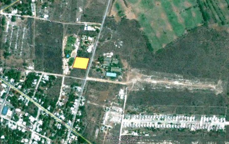 Foto de terreno habitacional en venta en calle, conkal, conkal, yucatán, 1719182 no 02