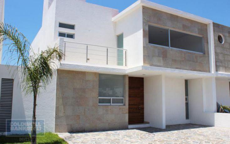 Foto de casa en condominio en venta en calle fray junpero serra, residencial el refugio, querétaro, querétaro, 1741644 no 01