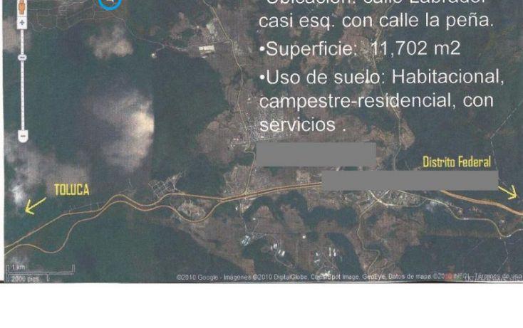 Foto de terreno habitacional en venta en calle labrador, caada de alferez, lerma, estado de mxico, lerma de villada centro, lerma, estado de méxico, 221530 no 02