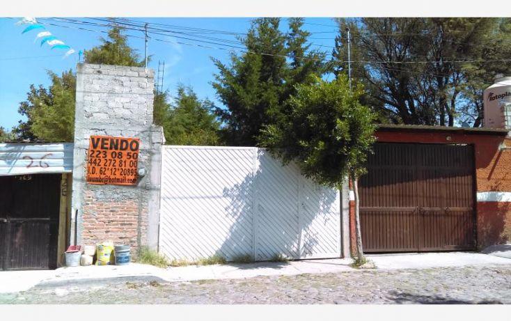 Foto de terreno habitacional en venta en calle san juan, amanecer balvanera, corregidora, querétaro, 1774678 no 01