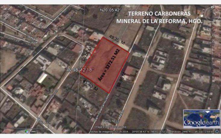 Foto de terreno habitacional en venta en calle venus 1, 11 de julio 1a sección, mineral de la reforma, hidalgo, 1825868 no 05