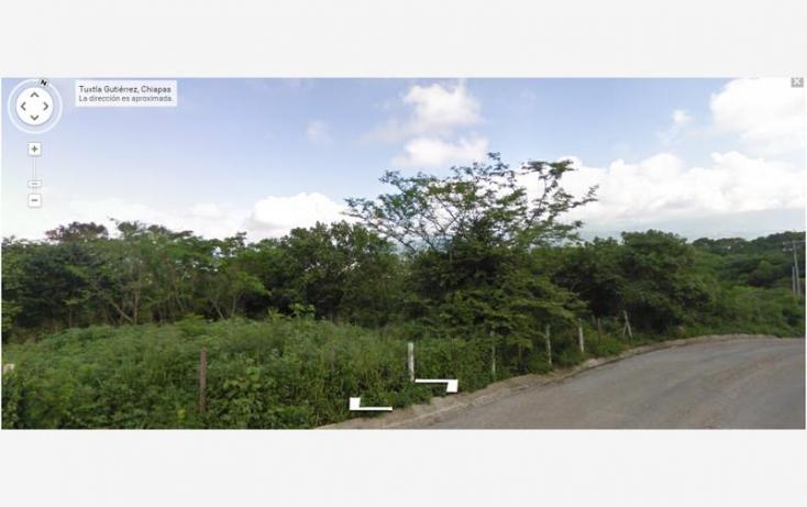 Foto de terreno habitacional en venta en callejón santa elena, tuxtlán mactumatza, tuxtla gutiérrez, chiapas, 815417 no 02