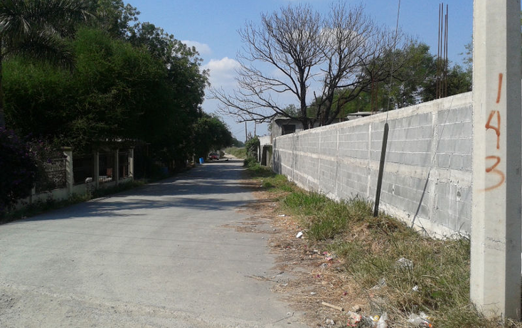 Foto de terreno habitacional en renta en  , calles, montemorelos, nuevo león, 1368955 No. 01