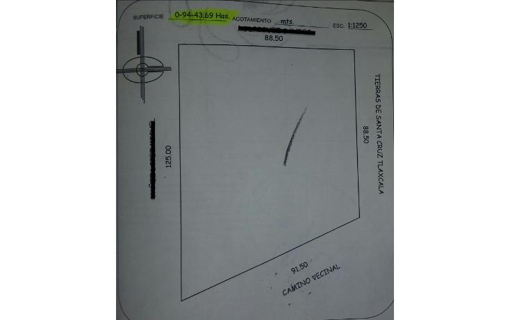 Foto de terreno habitacional en venta en  , santa cruz tlaxcala, santa cruz tlaxcala, tlaxcala, 1713960 No. 18