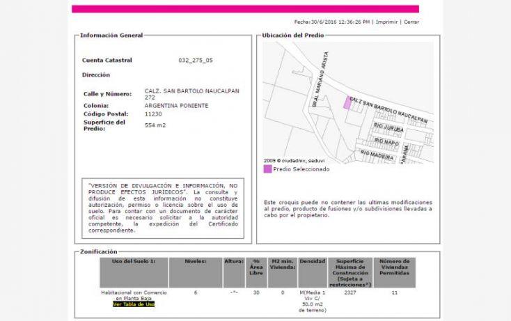Foto de departamento en venta en calzada de san bartolo naucalpan, argentina poniente, miguel hidalgo, df, 2033020 no 03