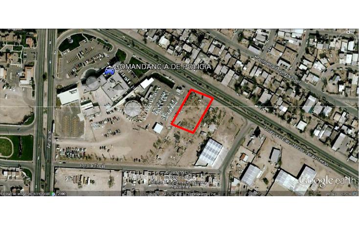 Foto de terreno habitacional en venta en calzada héctor terán terán junto a comandancia de policia , xochimilco, mexicali, baja california, 452908 No. 01