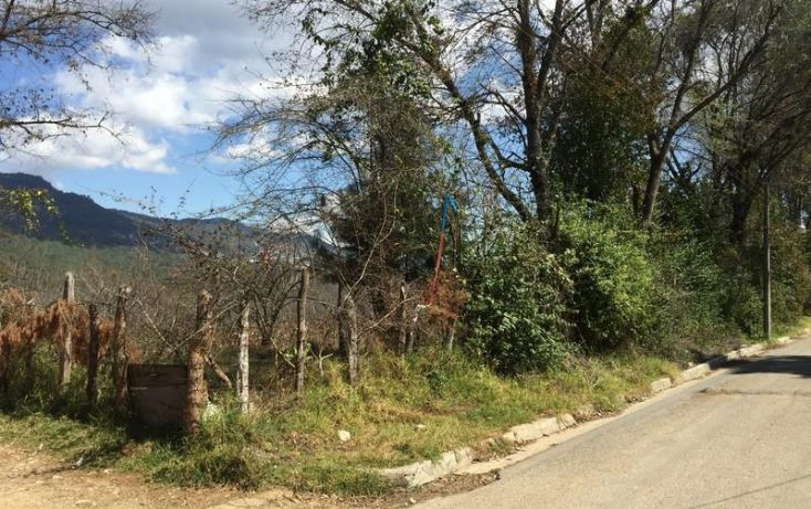 Foto de terreno habitacional en venta en calzada la escuela, alvaro obregón, san cristóbal de las casas, chiapas, 1842324 no 01