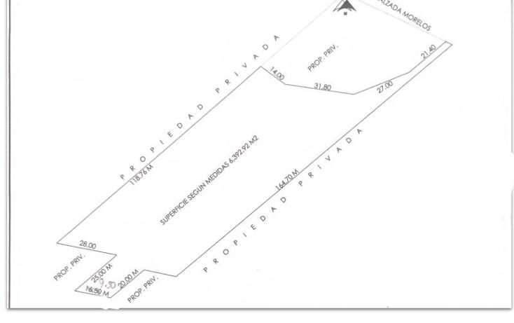 Foto de terreno habitacional en venta en calzada morelos ente union y progreso y tulipanes nonumber, san marcial, fort?n, veracruz de ignacio de la llave, 1806546 No. 01