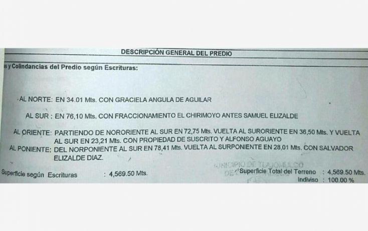 Foto de terreno habitacional en venta en camichin, el chirimoyo, tlajomulco de zúñiga, jalisco, 1206137 no 09
