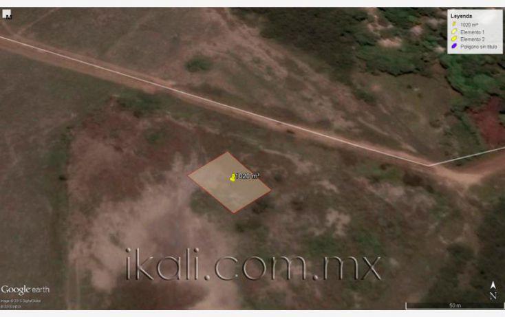 Foto de terreno habitacional en venta en camino a laguna de tampamachoco, la mata, tuxpan, veracruz, 1589312 no 08