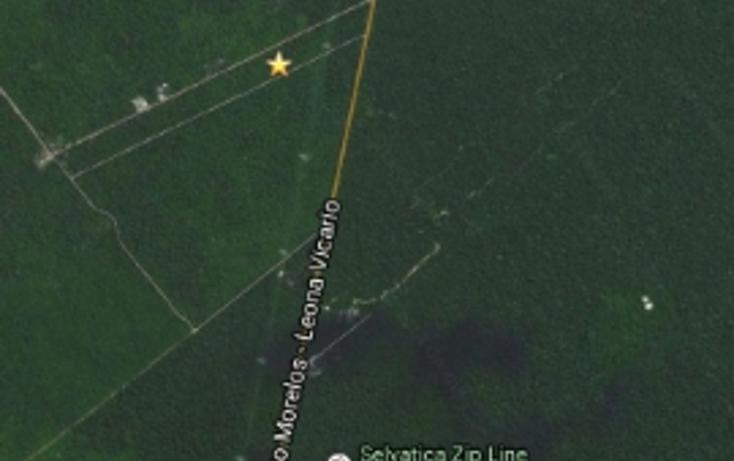 Foto de terreno habitacional en venta en camino a vallarta , leona vicario, felipe carrillo puerto, quintana roo, 1251115 No. 03