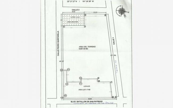 Foto de terreno habitacional en venta en camino al cañon de san lorenzo 1000, la estrella, saltillo, coahuila de zaragoza, 1608684 no 14