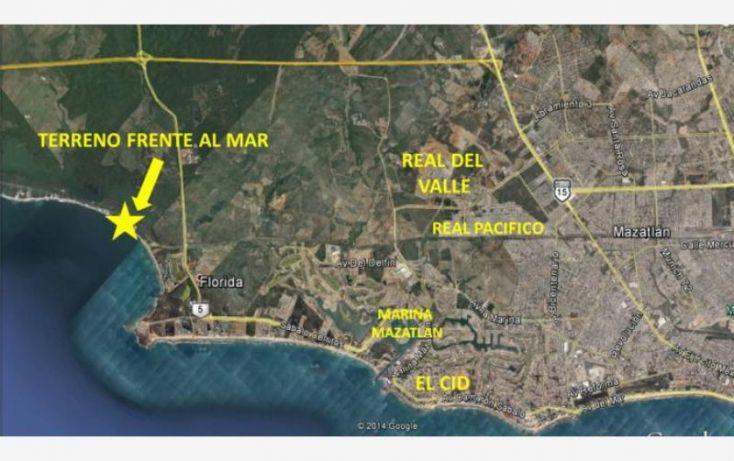 Foto de terreno habitacional en venta en camino al delfin 11, ampliación villa verde, mazatlán, sinaloa, 1583862 no 03
