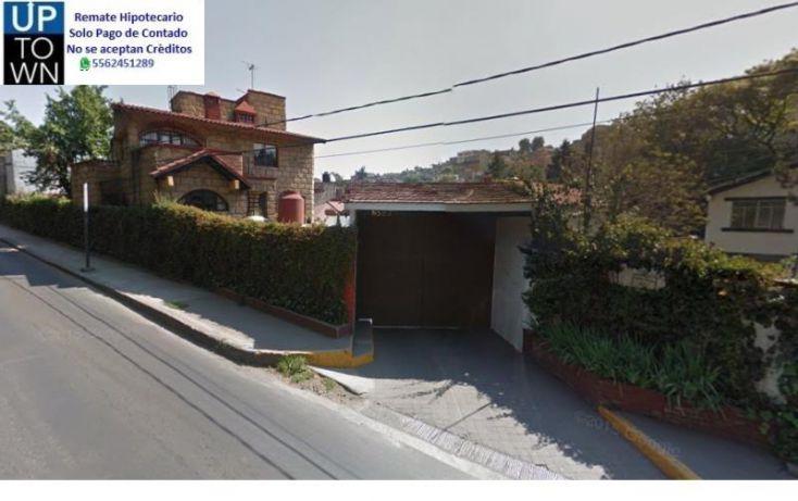 Foto de casa en venta en camino al desierto de los leones 1, tlacoyaque, álvaro obregón, df, 2041224 no 01