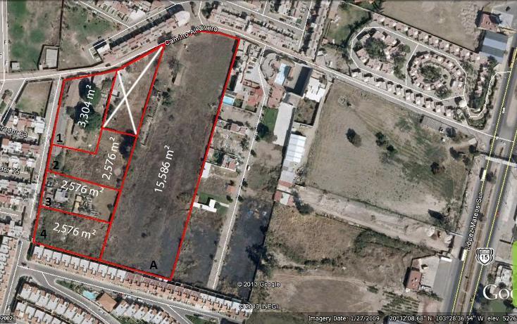 Foto de terreno habitacional en venta en camino al vivero, san agustin, tlajomulco de zúñiga, jalisco, 564790 no 01