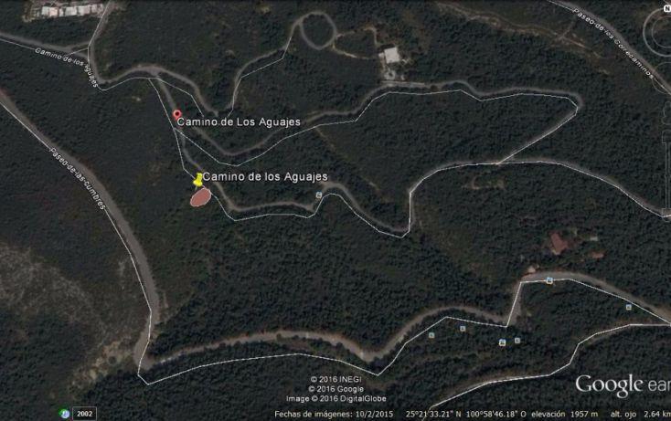 Foto de terreno habitacional en venta en camino de los aguajes, lomas de lourdes, saltillo, coahuila de zaragoza, 1714996 no 01