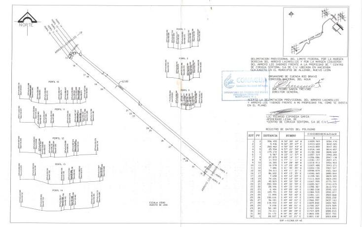 Foto de terreno habitacional en venta en camino de tierra 0, atongo de allende, allende, nuevo león, 1671282 No. 01