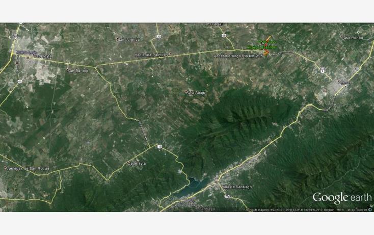 Foto de terreno habitacional en venta en camino de tierra 0, atongo de allende, allende, nuevo león, 1671282 No. 03