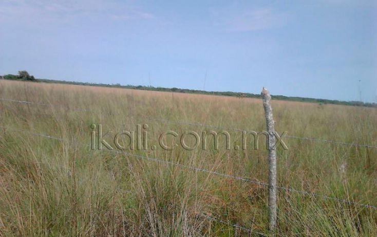 Foto de terreno habitacional en venta en camino laguna de tampamachoco, la mata, tuxpan, veracruz, 1589448 no 03