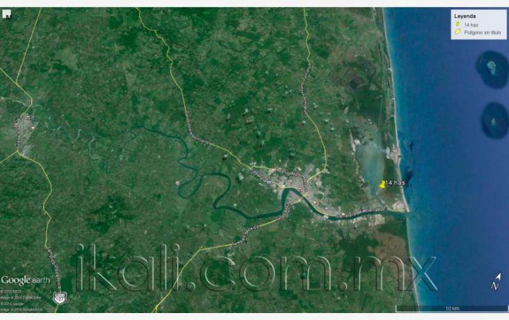 Foto de terreno habitacional en venta en camino laguna de tampamachoco, la mata, tuxpan, veracruz, 1589448 no 16