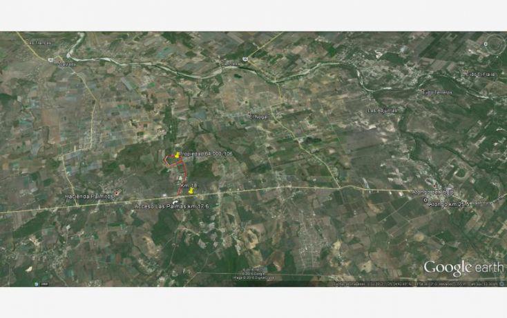 Foto de terreno habitacional en venta en camino, las palmas, cadereyta jiménez, nuevo león, 1671340 no 02