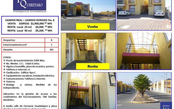 Foto de oficina en renta en camino real  camino dorado glorieta 6, colinas del sur, corregidora, querétaro, 1038031 no 02