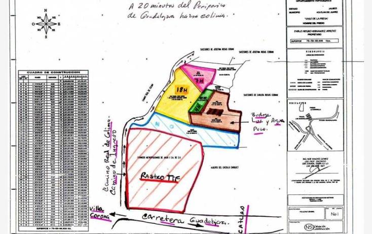 Foto de terreno industrial en venta en  0, la resolana, acatlán de juárez, jalisco, 375156 No. 03