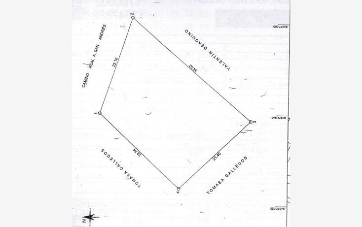 Foto de terreno comercial en venta en camino real a san andres sin numero, emiliano zapata, san andr?s cholula, puebla, 1607994 No. 10