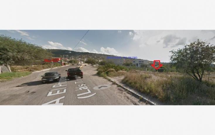 Foto de terreno habitacional en venta en camino real, los olvera, corregidora, querétaro, 717503 no 01