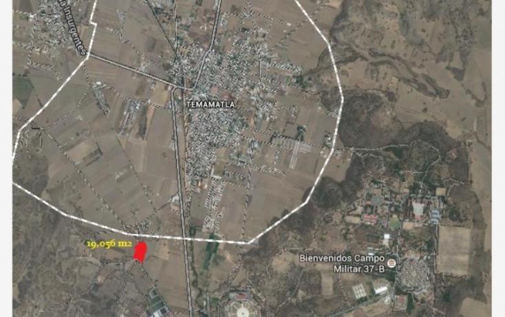 Foto de terreno habitacional en venta en camino temamatla viveros 018, campo militar  37 b, temamatla, estado de méxico, 551824 no 01