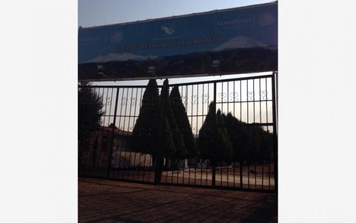 Foto de terreno habitacional en venta en camino temamatla viveros 018, campo militar  37 b, temamatla, estado de méxico, 551824 no 02