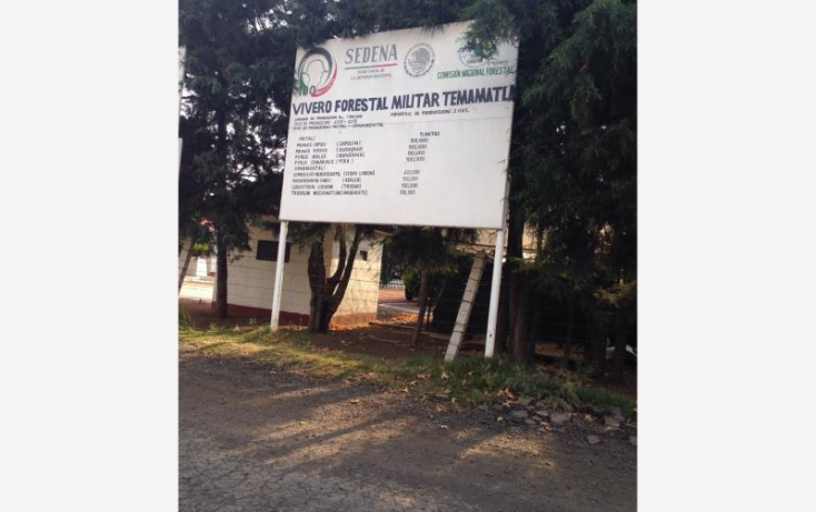 Foto de terreno habitacional en venta en camino temamatla viveros 018, campo militar  37 b, temamatla, estado de méxico, 551824 no 03