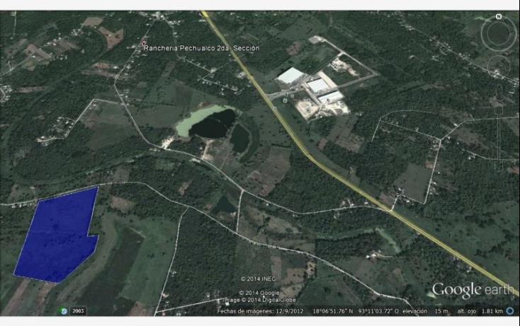 Foto de terreno industrial en venta en camino vecinal la piedra 2da 17km de carretera federal 6, cunduacan centro, cunduacán, tabasco, 516855 no 03