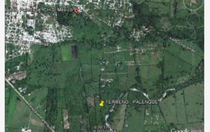 Foto de terreno habitacional en venta en camino viejo a bachajon proyecto libramiento, palenque centro, palenque, chiapas, 374491 no 01