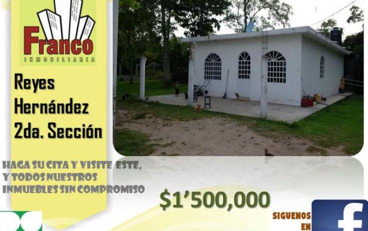 Foto de casa en venta en camino viejo, cap reyes hernandez 2a secc, comalcalco, tabasco, 1436997 no 02