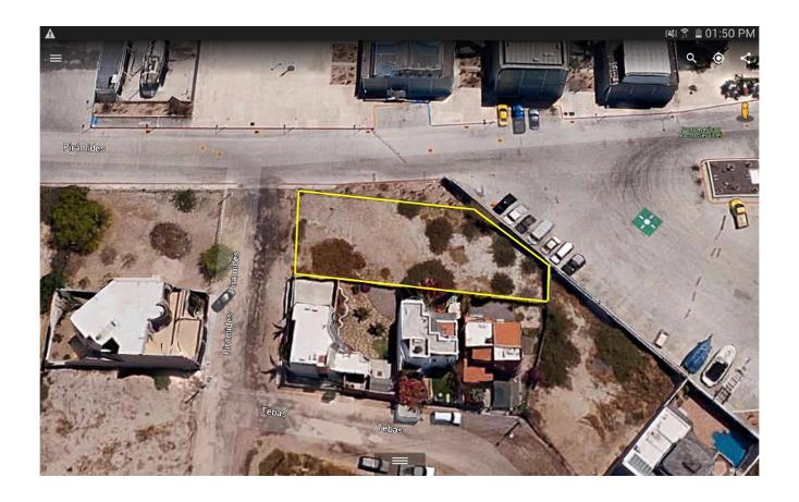 Foto de terreno habitacional en venta en  , campestre, la paz, baja california sur, 1576938 No. 04