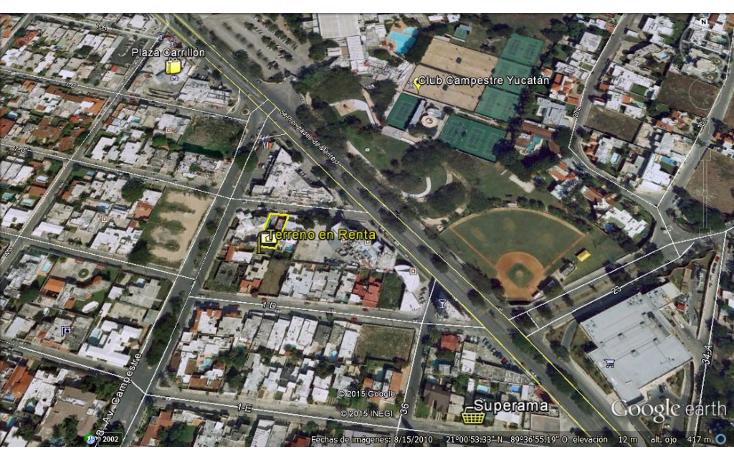 Foto de terreno comercial en renta en  , campestre, mérida, yucatán, 1109977 No. 02
