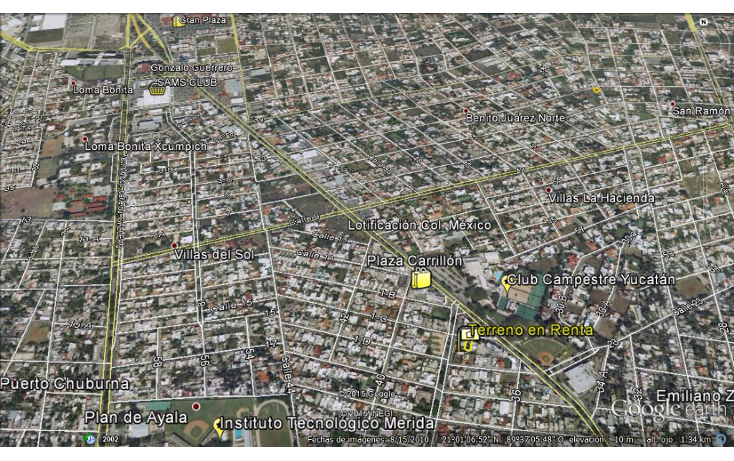 Foto de terreno comercial en renta en  , campestre, mérida, yucatán, 1109977 No. 09