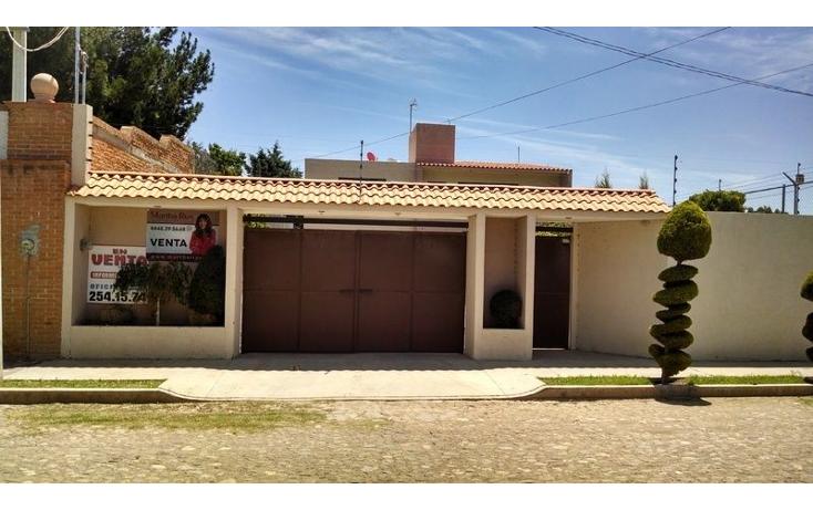 Foto de casa en venta en  , campestre real del potosí, cerro de san pedro, san luis potosí, 1647630 No. 01