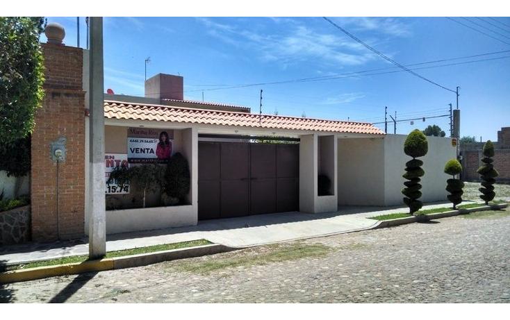 Foto de casa en venta en  , campestre real del potosí, cerro de san pedro, san luis potosí, 1647630 No. 02