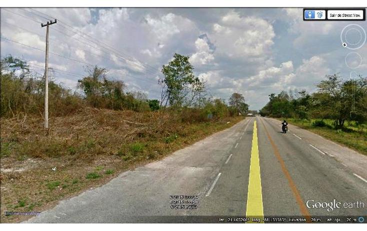 Foto de terreno comercial en venta en  , campestre san francisco, tizimín, yucatán, 1091293 No. 02