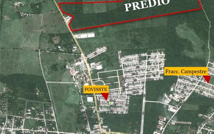 Foto de terreno habitacional en venta en  , campestre san francisco, tizimín, yucatán, 1392443 No. 01