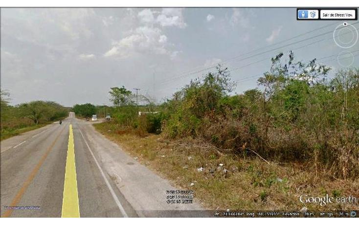 Foto de terreno habitacional en venta en  , campestre san francisco, tizimín, yucatán, 1553618 No. 04