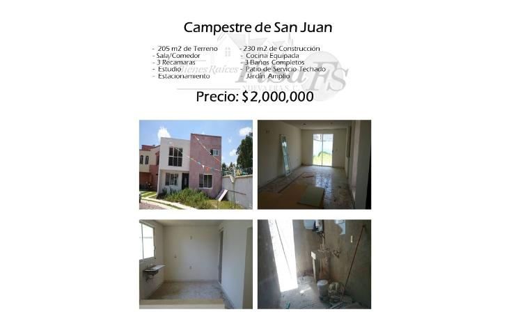 Foto de casa en venta en  , campestre san juan 1a etapa, san juan del r?o, quer?taro, 1503631 No. 01