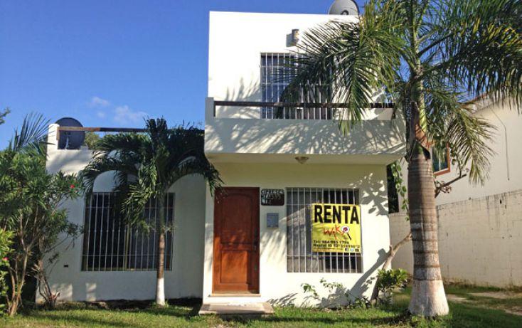 Foto de casa en renta en, campestre, solidaridad, quintana roo, 1064675 no 01