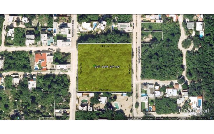 Foto de terreno habitacional en venta en  , campestre, solidaridad, quintana roo, 1675718 No. 01