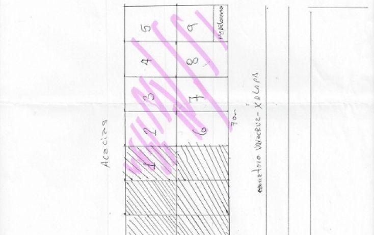 Foto de terreno habitacional en venta en, campestre, veracruz, veracruz, 1279775 no 08