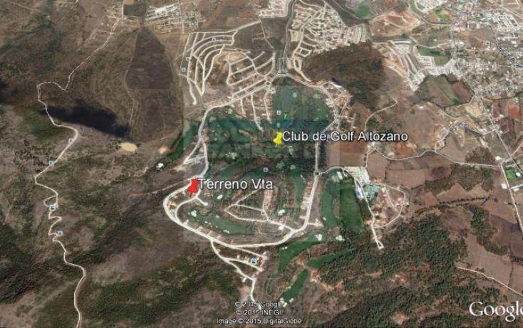 Foto de terreno habitacional en venta en campo de golf altozano 1, bosque monarca, morelia, michoacán de ocampo, 904847 no 02