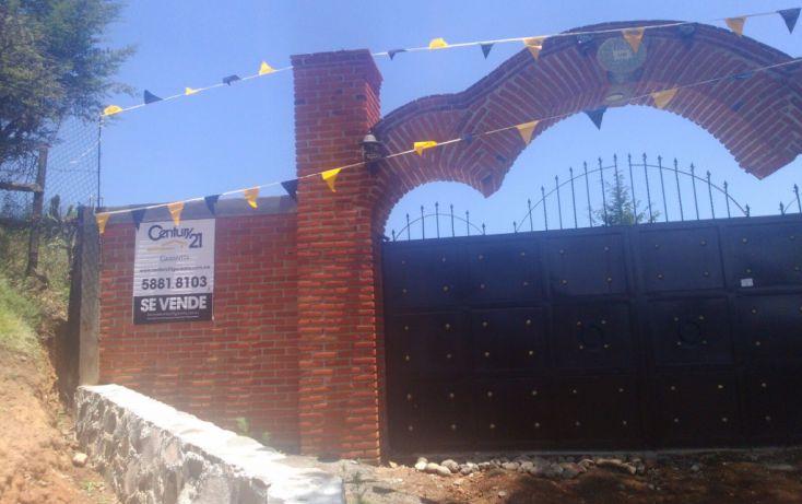 Foto de terreno habitacional en venta en, cañada de cisneros, tepotzotlán, estado de méxico, 1708772 no 01